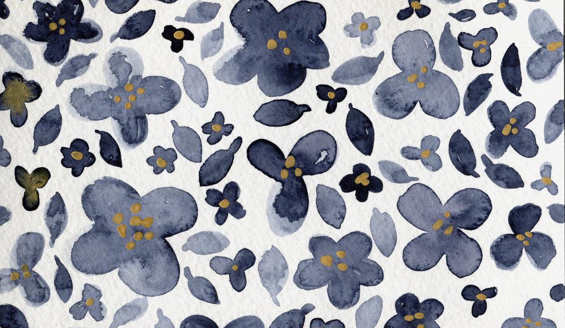 Blumige Grüße/ Floral Greetings
