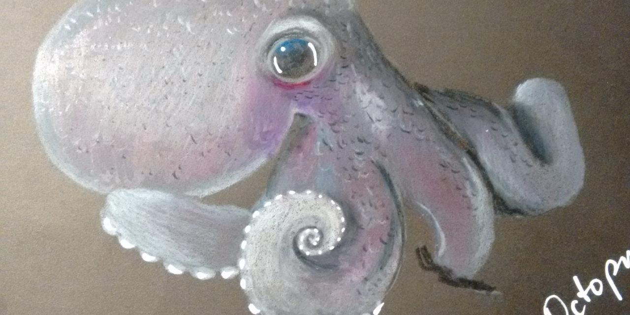 Black Sketchbook: Octopus 2