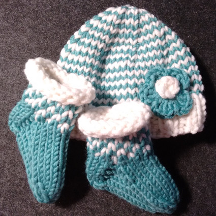 Strickanleitung Babyset Leandra/ Knitting Pattern Baby Set Leandra