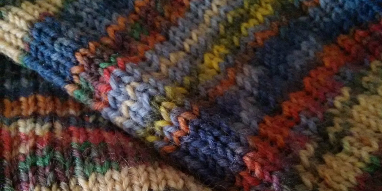 Ich stricke noch/ I'm still knitting
