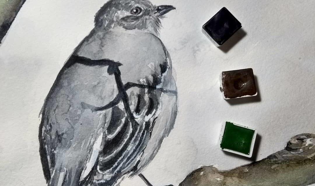 Handgemachte Aquarellfarben / Handmade Watercolors