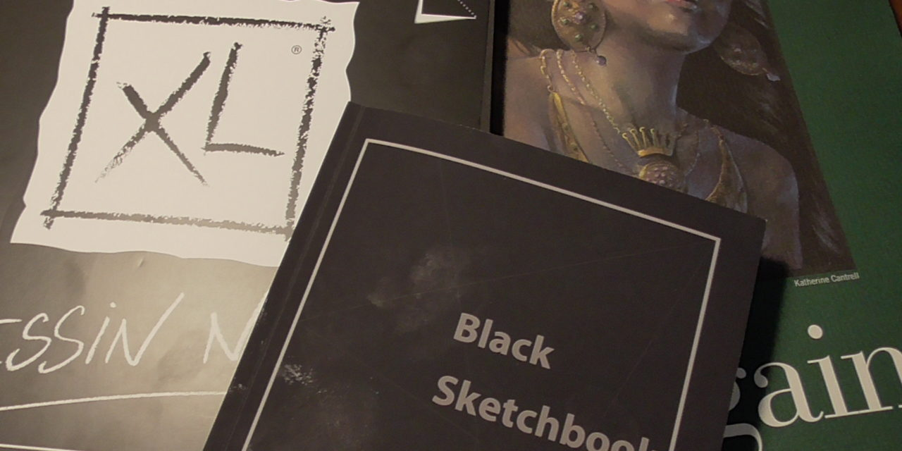 Review und Vergleich schwarzer Skizzenbücher/ Review and Comparison of Black Sketchbooks