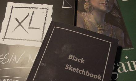 Review und Vergleich schwarzer Skizzenbücher/ Review and Comparison of Black Sketchbooks