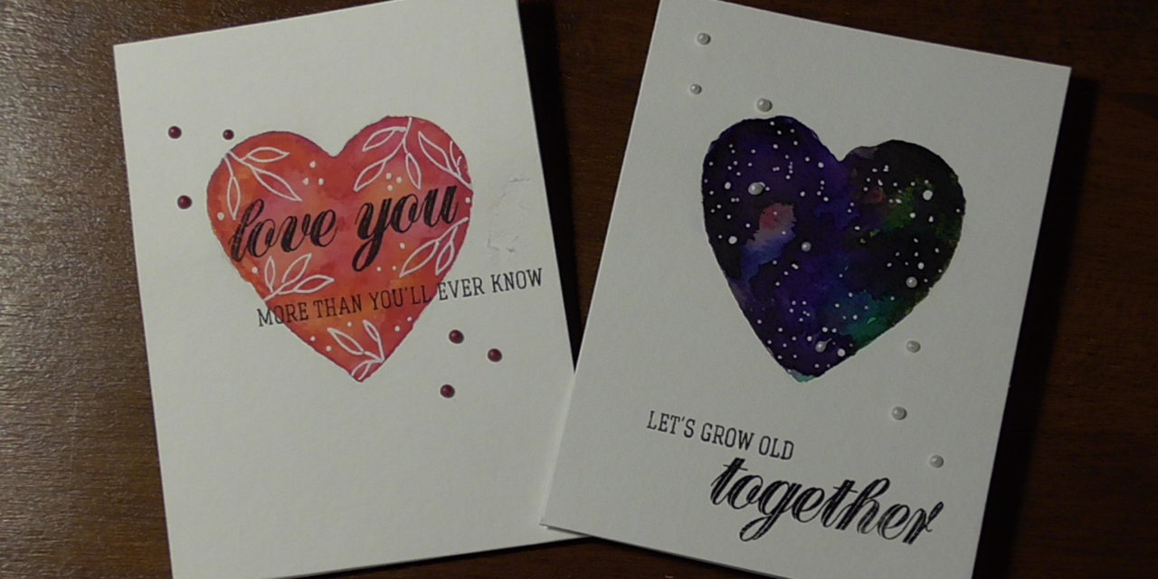 Valentinstagskarten/ Cards for Valentines Day