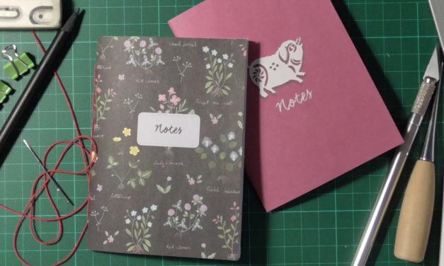 Anleitung Heftchenbinden/ Tutorial Bookbinding