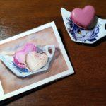 Fröhlichen Valentinstag in Pastell