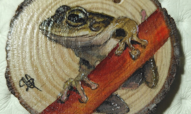 Tutorial: Auf Holz malen